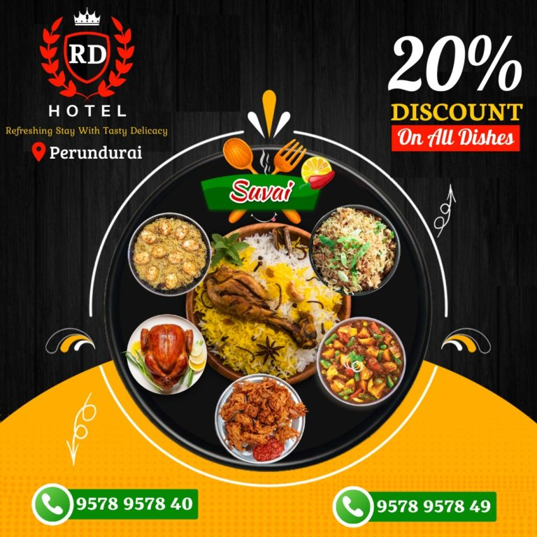 Special Offers – Monday to Weekday 20% offer On All Dishes